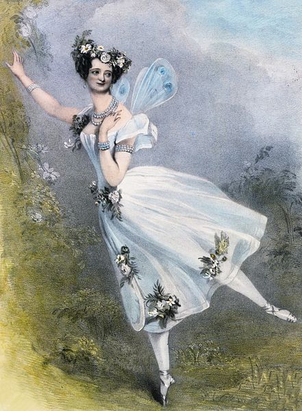 マリー・タリオーニのイラスト