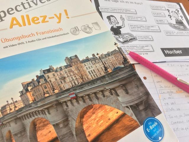 ドイツ語で書かれたフランス語の教科書
