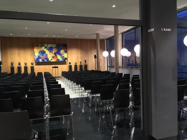ドイツ・オペラの講演スペース