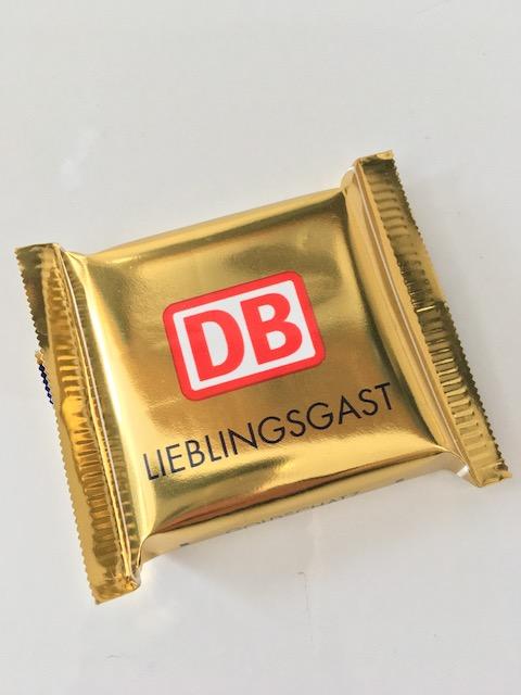 黄金に輝くチョコレート