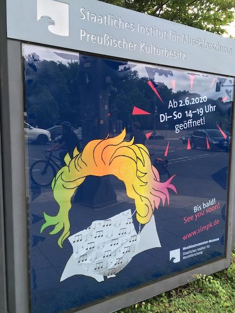 ベルリン楽器博物館のポスター