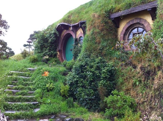 ホビット庄にある主人公フロドの家
